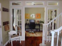 great idea turned unused dining room into beautiful home office love those french doors dining room home office home