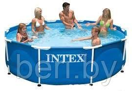 Каркасный бассейн <b>Intex Metal Frame 305 х 76</b> см арт. 56997 ...