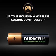 Rechargeable <b>AA</b> Batteries 1300mAh - <b>Duracell</b> Plus Batteries