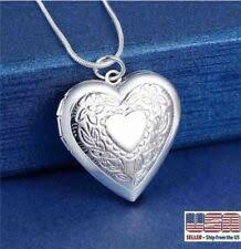 <b>Sterling</b> Silver <b>Heart Pendant</b> In Fashion Necklaces & Pendants for ...