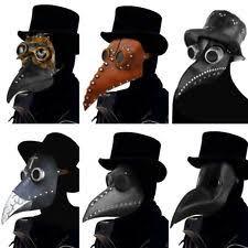 <b>Plague</b> Doctor <b>Mask</b> for sale | eBay