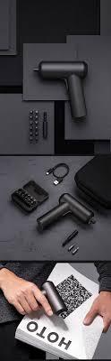 <b>Original Xiaomi Mijia Electric</b> Screwdriver Chargeable 12 Bites ...