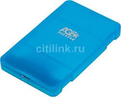 Купить <b>Внешний корпус</b> для HDD/SSD <b>AGESTAR 3UBCP3</b>, синий ...