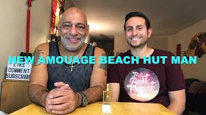 NEW <b>Amouage Beach Hut Man</b> REVIEW with Redolessence + 5ml ...