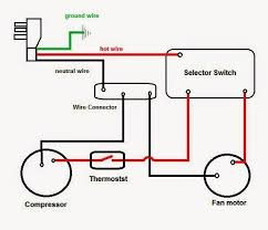 electrical wiring diagrams for air conditioning systems part two fig 4 window air conditioning unit internal electrical wiring
