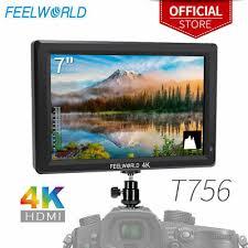 <b>FEELWORLD T756 7 Inch</b> 1920x1200 IPS On Camera Field Monitor ...