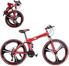 26 inch Adults Folding Mountain Bike for Men <b>Women</b>