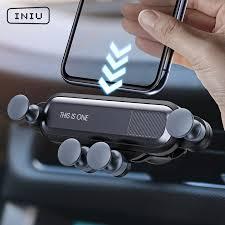 Автомобильный держатель INIU Gravity для телефона в ...