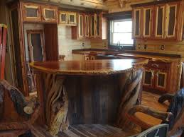 rustic kitchen cabinets the unique wood counter tops crafted out of old growth curly redwood brilliant log wood bedroom