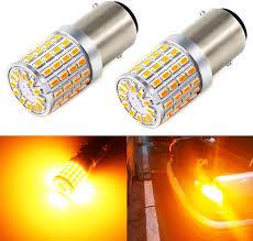 Side Marker Lights Pack of 4 Antline <b>1157</b> 2057 2357 7528 BAY15D ...