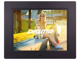 Купить <b>цифровую фоторамку Digma PF-833</b>, черная по цене от ...
