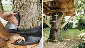 How to Build a Treehouse   Best DIY Tree HouseLajos Geenen