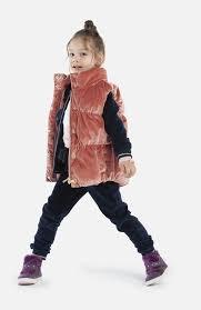 Розовый утепленный <b>жилет для</b> девочки <b>PlayToday</b> 392033 ...