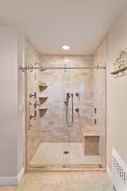 bathroom tempered glass shelf: corner shelves for shower bathroom contemporary with clear tempered glass heavy image by new york shower door