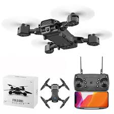 LS11 2.4GHz Foldable Wi-Fi FPV RC Quadcopter Drone with 4K HD ...