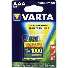 <b>Аккумулятор VARTA</b> System Rechargeable <b>AAA</b> 2 шт. — купить ...