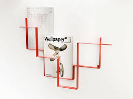 magazine rack wall mount:  images about magazine rackscoat hooks on pinterest wall mount literature and wood magazine