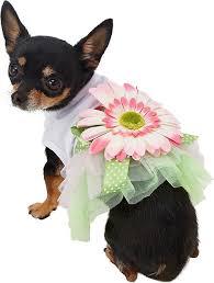 Parisian Pet <b>Sunflower Dog Dress</b>, X-Small - Chewy.com