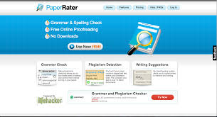 instantly improve your writing these editing tools ny paper rater paperrater is an online grammar and spell checker it does an in depth analysis of your writing paperrater grades your work