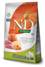 <b>N&D</b> Pumpkin <b>GF Dog</b> Food Boar & Apple 26.4 lbs - Furchild