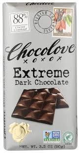 Chocolove <b>Extreme Dark Chocolate</b> , 3.2 Oz - Walmart.com ...