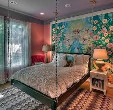 Home Design  Beautiful Fresco Bedroom Wall Mural Earth Tones - Bedroom wall murals ideas