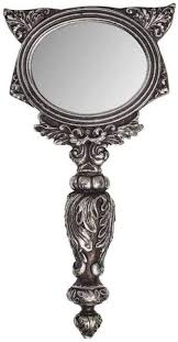 Alchemy Gothic Cat Hand Mirror: Home & Kitchen - Amazon.com