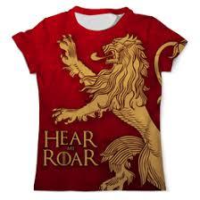 Толстовки, кружки, чехлы, <b>футболки</b> с принтом house <b>lannister</b>, а ...