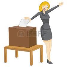 Resultado de imagen de mujer voto españa