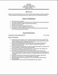 medical hr examples human nurse recruiter resume