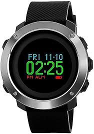 KAUO <b>Multifunctional Sports Watch</b> Large Face OLED Display ...