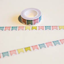 <b>1 Pc</b> / <b>Pack 15mm*10m</b> Japanese Washi Decorative Adhesive Tape ...