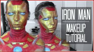 nyx face awards entry 2016 iron man makeup