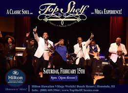 Top Shelfs Jukebox! (Motown n More) DinnerShow | Waikiki Beach ...