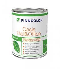 <b>Краска</b> для стен и <b>потолков ФИННКОЛОР</b> OASIS HALL&OFFICE 4 ...