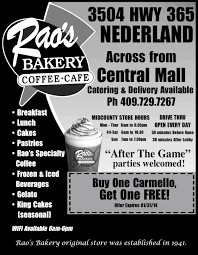 flyers and ad designs maegan ware rao s bakery ad made for high school football program while working at e sullivan advertising