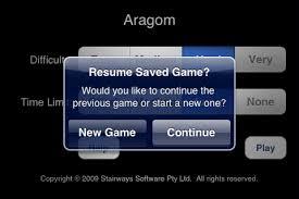 aragom space warresume game screenshot