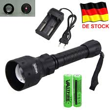 400 Yard <b>Zoomable Adjustable Infrared</b> Light Tactical Hunting Torch ...