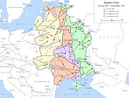 timeline of world war ii  map of german advances in the ussr