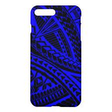 Colorful Samoan tattoo pattern Iphone 8 <b>Plus</b>/7 <b>Plus</b> Case | Samoan ...