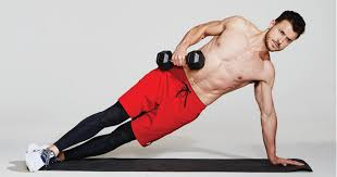 The <b>Dumbbell</b> Row Side Planks That Will Make Your Abs Sore as <b>Hell</b>
