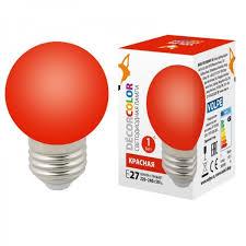 <b>Лампа</b> декоративная светодиодная <b>Volpe</b> (ul-00005646) <b>e27 1w</b> ...