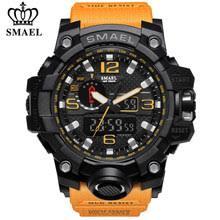 Best value <b>Smael</b> Men <b>Sport Watch</b> Dual Display Analog <b>Digital</b> ...