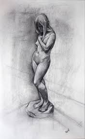 17 best images about sculpture drawings shops mick mcnicholas an original drawing after eve a marble sculpture by sir thomas