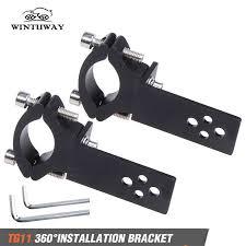 <b>WINTUWAY</b> Full CNC Aluminum <b>Motorcycle</b> Footrest Footpeg Pedal ...