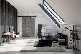 modern bedroom concepts:   sliding bedroom door