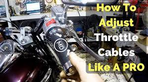 How To <b>Adjust</b> Throttle <b>Cables</b> Like A Pro - YouTube