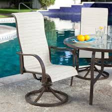 piece padded sling outdoor dining set