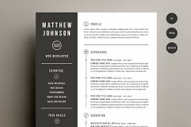 resume templates that look great in creative market blog resume cover letter template