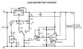 lead acid battery charger circuit lead acid battery charger